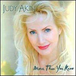 画像1: JUDY AKIN(vo) / More Than You Know [CD] (自主制作盤)