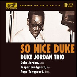 画像1: 再入荷  ピアノ・トリオ DUKE JORDAN TRIO / So Nice Duke [XRCD] (TBM)