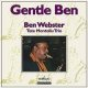復刻 TETE MONTOLIU - BEN WEBSTER QUARTET / Gentle Ben [紙ジャケCD]  (DISCMEDI)