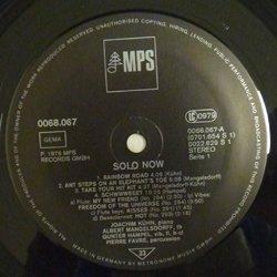 画像3: ちょっとレアな中古アナログ ALBERT MANGELSDORFF(tb) / Solo Now [LP] (MPS)