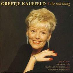 画像1: GREETJE KAUFFELD(フリーチャ・カウフェルト)(vo) / The Real Thing [CD] (RIFF)