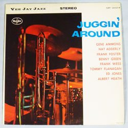 画像1: 中古アナログ ・ちょっとRARE ! GENE AMMONS(ts) / Juggin' Around [LP]] (VEEJAY)