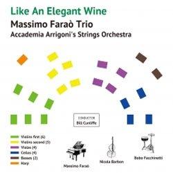 画像1: アナログ  Massimo Faraò Trio with Accademia Arrigoni's Strings Orchestra / Like An Elegant Wine          [180g重量盤LP]] (VENUS RECORDS)