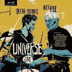 画像1: アナログ ALEX RIEL(ds) & STEFAN PASBORG(ds) / Universe Live (LP) [STUNT]